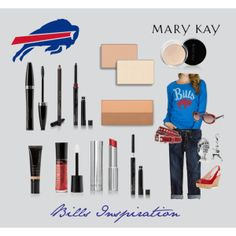 """In need of Mary Kay products anywhere within the U.S. or interested in becoming a consultant? Contact me w questions! annaprince@marykay.com  www.marykay.com/annaprince """"Game Day Inspiration - Buffalo Bills"""" photo by natalie-edmondson"""