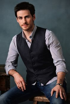 Colin O'Donoghue. aka Captain Hook on Once Upon a Time
