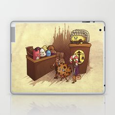 Just Desserts Laptop & iPad Skin by KadetKat - $25.00