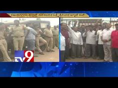 Workers protest Jute Mill lockout in Vizianagaram