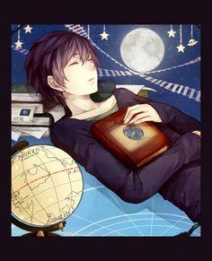 Anime guy, so cute ^^ He's random, but still cool xD