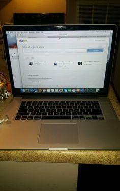 "Apple MacBook Pro A1398 15.4""  October 2013 retina 2.6 GHz Intel 1 terrabyte"