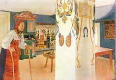 Carl Larsson (1853-1919) - Mother Kersti