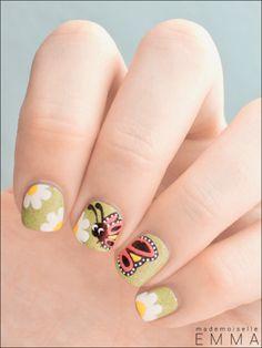 spring nail art ideas