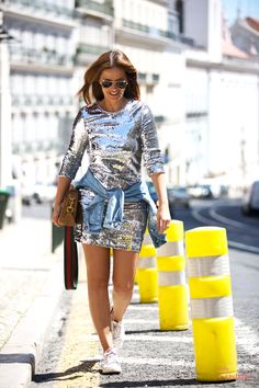 Cristina Ferreira | Lisboa | Look | Fashion | Daily Cristina | Street Style | Vestido Imperial | Sahoco | Casiraghi | Adidas | Rayban