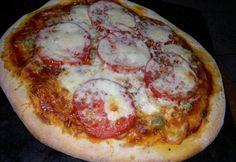 Pizza tészta, paradicsomos alap 5. - burgonyás