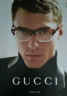 05ef64537b Clément Chabernaud by Mert   Marcus for Gucci Eyewear Campaign image  Clement Chabernaud Gucci Eyewear Fall 2014 Campaign