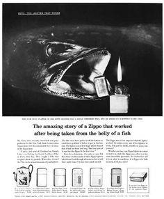 David Ogilvy on ZIPPO Lighters