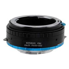 Fotodiox Pro Lens Mount Shift Adapter - Nikon Nikkor F Mount G-Type D/SLR Lens to Fujifilm X-Series Mirrorless Camera Body, with Built-In Aperture Control Dial Nikon Mirrorless, Tilt Shift Lens, System Camera, Sony E Mount, Sony Camera, Photo Accessories, Fujifilm, Lenses