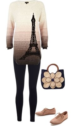 """paris"" by brandyayers on Polyvore"