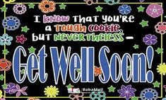Hope this greeting will bring some cheer to your day. Get well soon! Get Well Soon, Wellness, Thoughts, Cat, Get Well, Cat Breeds, Cats, Kitty, Ideas