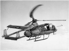 February 11, 1954: Test pilot John R. Noll began tethered hovering flight tests of the McDonnell XV-1, US experimental compound helicopter, designated as a convertiplane.