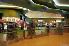Disney's Art of Animation Resort - Inside Landscape of Flavors Food Court