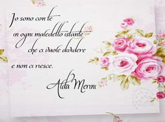 """Una affermazione forte della potenza dell'amore, come solo Alda era capace di scrivere. """"Io sono con te in ogni maledetto istante che ci vuole dividere e non ci riesce."""" Alda Merini"""