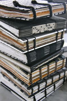 Handmade books by Susan Bowers