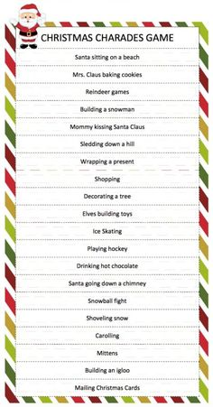 30 perfect christmas games for families holidays pinterest