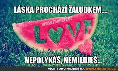 Láska prochází žaludkem...