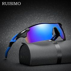 a3148ca38 Sport Polarized Sunglasses Polaroid sun glasses Goggles UV400 Windproof  sunglasses for men women Fishing retro De
