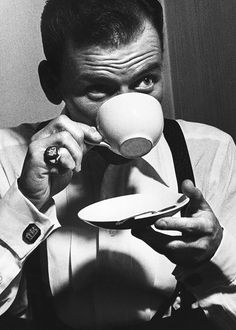 Frank Sinatra in London, c. 1950s    Lifestyle of the Unemployed