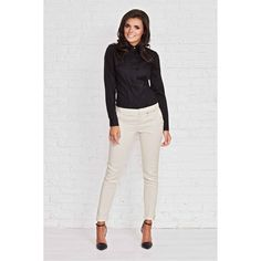 Infinite You Koszula - czarny Nylons, Types Of Shirts, White Jeans, Infinite, Long Sleeve Shirts, Ralph Lauren, Lady, Spandex, Pants