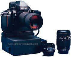 Nikon F4 - Electronic Still Camera (ESC) Built for NASA