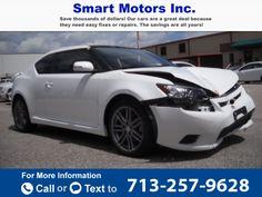 2013 *SCION*  *TC*   12k miles $6,200 12040 miles 713-257-9628 Transmission: Automatic  #SCION #TC #used #cars #SmartMotors #Houston #TX #tapcars