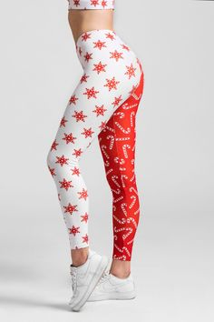 Designed to fit like a second skin—perfect for holiday yoga, running, the gym or that festive IG story. #fiercepulse #holiday #christmas #leggings Christmas Party Outfits, Holiday Party Outfit, Christmas Gifts, Leggings Outfit Winter, Christmas Leggings, Athleisure Outfits, Athleisure Fashion, Spring Outfits, Winter Outfits