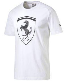 PUMA Puma Men's Ferrari Big Shield T-Shirt. #puma #cloth # activewear