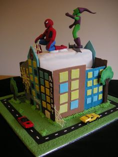 Amazing-Spiderman-Cakes.jpg (1200×1600)