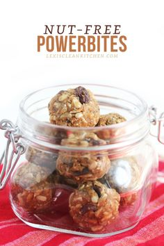 No-Bake & Nut-free Powerbites
