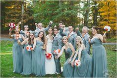Charlottesville Virginia vineyard wedding - paper bouquets