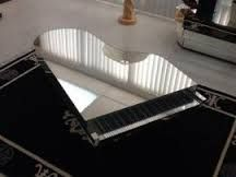 Image Result For Mirrored Piano Coffee Table