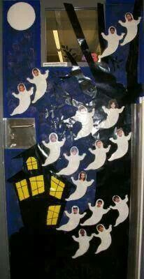 1000 images about d co de porte on pinterest classroom for Decoration porte classe halloween