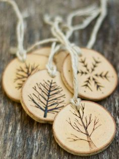 Rustic Gift Ideas - Christmas Gift Trends - Country Living#slide-1  $40.00/Set 0f 5