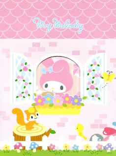 """""""One Afteroon by The Window"""", as collected via Sanrio on 20/10/2013"""