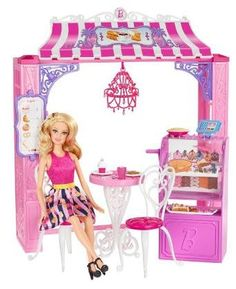 Barbie Life in the Dreamhouse Cafe and Doll Playset, $38.29