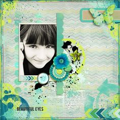 Beautiful eyes by Giny
