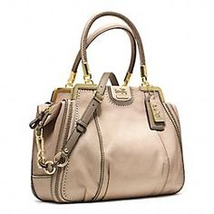 MADISON PINNACLE ZIG ZAG PERFORATED LILLY coach
