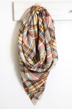 Blanket Plaid Scarf | Autumn $24.00 Cute Fall Outfits, Fall Winter Outfits, Pretty Outfits, Autumn Winter Fashion, Autumn Fall, Casual Outfits, Fall Fashion, Girl Outfits, Fashion Outfits