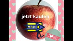 V.S.C. Vitalstoffcontroller - YouTube Youtube, Vitamins, Letters, Plates, Apple, Fruit, Creative, Food, Licence Plates