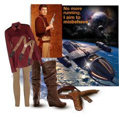 Firefly Serenity by holysmokinkitty on Polyvore. I just love kayleeu0027s outfits | Costumes | Pinterest | VideotInspiraatio ja Naamiaispuvut  sc 1 st  Pinterest & Firefly Serenity by holysmokinkitty on Polyvore. I just love ...