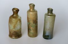 All 3 can be dated between 1650 and 1700.   eBay!