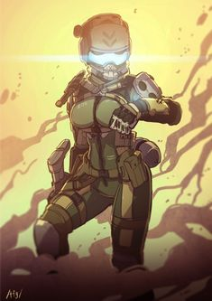 Join the Titanfall community forums and share your experience from the frontier. Female Character Design, Character Art, Armor Concept, Concept Art, Sci Fi Armor, Future Soldier, Cyberpunk Art, Sci Fi Characters, Shadowrun