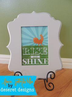 Deseret Designs: Rise and Shine!