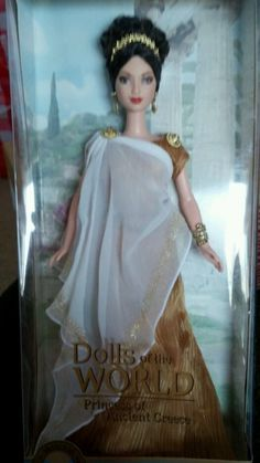 Princess of Ancient Greece 2004 Barbie Doll