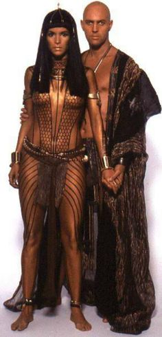 Imhotep & Anck-Su-Namun from The Mummy