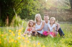 Family Country Portrait