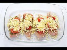 Mozzarella Tomato & Basil Pesto Chicken - My Fussy Eater