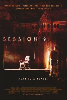 Session 9 (2001) - I would definitely recommend this movie as a creepy psychological thriller, it was filmed in and around the Danvers State Mental Hospital in Danvers, Massachusetts which I think was a really good choice because the atmosphere that haunts the place throughout the movie would give you heebie-jeebies and you'd never want to be in such a place. (Read More...)