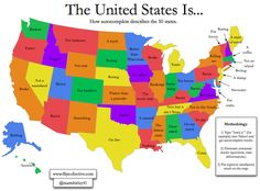 States of US with Abbreviations Maps Pinterest Buckets